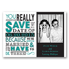 Ga Ga Photo - Jade - Save the Date Magnet