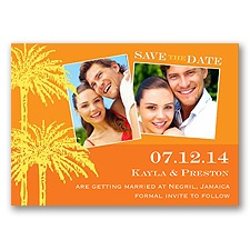 Sunshine - Photo Save the Date Magnet