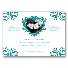 Bliss - Jade - Photo Save the Date Magnet
