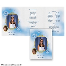 Starry Night Photo  Quinceanera - Invitation