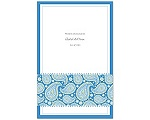 Perfect Paisley Duet - Cornflower- Program