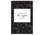 Treasured Jewels Pattern - Black - Program