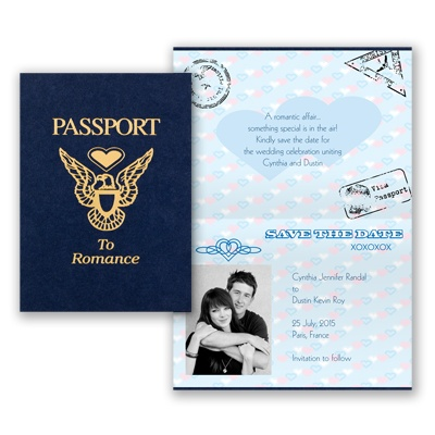 Passport - Save The Date