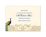 Golden Treasure - Reception Card