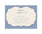 Antique Border - Reception Card