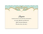 Detailed Elegance - Reception Card