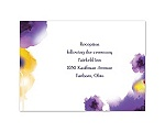 Bright Beauty - Regency - Reception Card