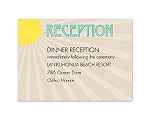 Hot Deco - Reception Card
