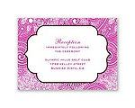 Happily Henna - Reception Card