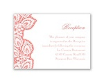 Lacy Delight - Reception Card