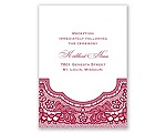 Vintage Romance - Reception Card