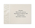 Truly Texture - Reception Card