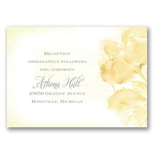 I Dream of Peonies - Buttercream - Reception Card