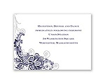 Bridal Lace - Reception Card