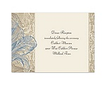 Vintage Love - Cornflower - Reception Card