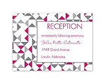 Looking Sharp - Reception Card