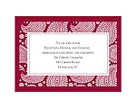 Perfect Paisley Duet - Apple - Reception Card