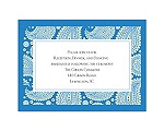 Perfect Paisley Duet - Cornflower - Reception Card