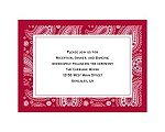 Perfect Paisley - Apple - Reception Card
