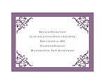 Imperial Contour Border - Reception Card