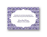 Layers of Color - Regency - Reception Card