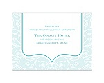English Garden - Reception Card