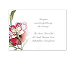 Brittany Roses - Apple -  Reception Card