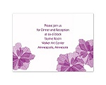 Love Blossoms - Reception Card