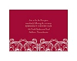 Aristocrat - Reception Card