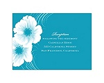 Two of Us - Malibu - Reception Card