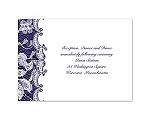 Lace Wrap - Reception Card