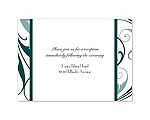 Swept Away - Gem - Reception Card