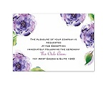 Treasured Jewels Splendor - Purple Reception Card