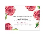 Treasured Jewels Splendor - Ruby Reception Card