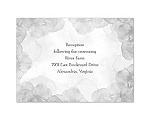 Treasured Jewels - Vintage Roses - Reception Card