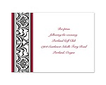 Together Forever - Reception Card