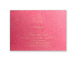 Shining Pearls - Hot Pink Shimmer - Reception Card