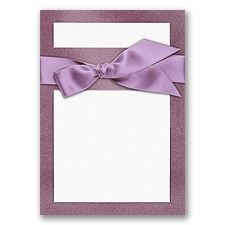 Treasured Gems - Amethyst & Bright White - DIY Invitation Kit