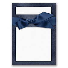 Treasured Gems - Sapphire & Bright White - DIY Invitation Kit