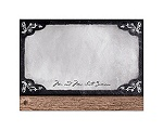 Rustic Chalkboard - Thank You Card and Envelope