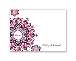 Particularly Paisley - Lapis - Thank You Card and Envelope