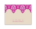 Mehndi Magic - Thank You Card and Envelope