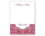 Vintage Romance - Thank You Card and Envelope