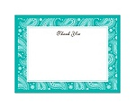 Perfect Paisley - Mermaid - Thank You Card and Envelope