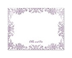 Treasured Jewels - Washed Filigree - Thank You Card and Envelope