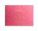 Shining Pearls - Hot Pink Shimmer - Thank You Card and Envelope