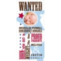 WANTED - Birth Announcement