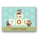 Party Monkeys - Thank You Card