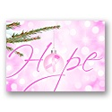Let Hope Shine - Pink Ribbon