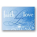 Faith, Hope, Love - Blue
